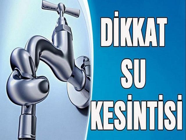 20 saatlik su kesintisi! İSKİ duyurdu