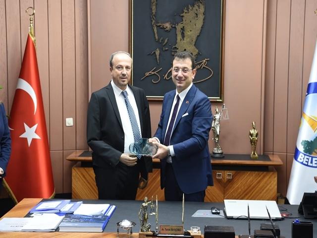 Başkan İmamoğlu'ndan Hançerli'ye Ziyaret