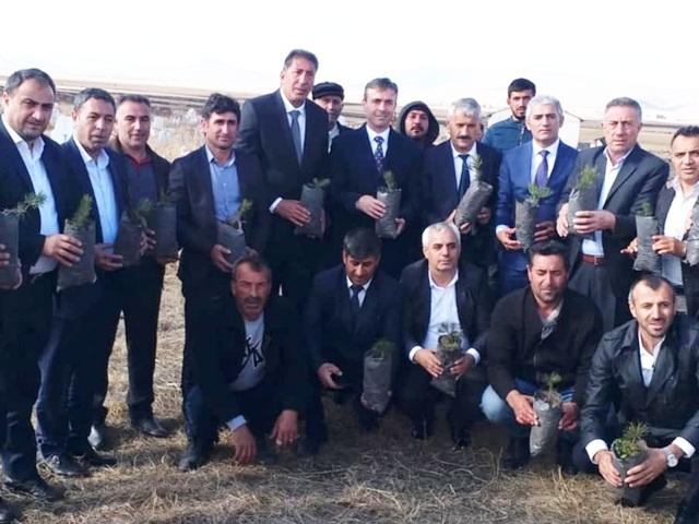 İstanbul Göle Dernekler Federasyonu 5 Bin700 Fidan Dikti