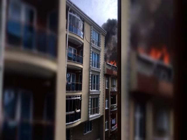 Esenyurt'ta Kiracı Ev sahibine kızdı, boşalttığı evi yaktı