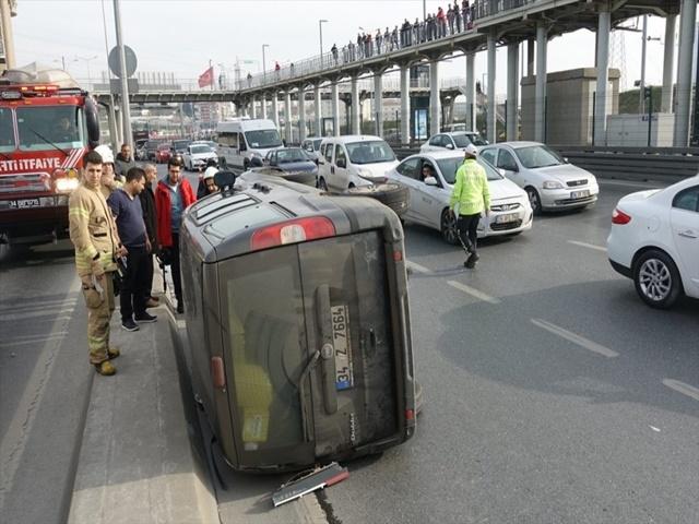 Esenyurt'ta Trafik kazası