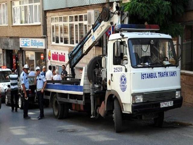 İstanbul'da Artık Araçlarınız Çekilmeyecek