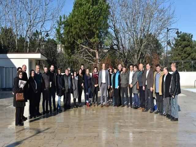 Başkan Turan Hançerli basın mensuplarını kahvaltıda ağırladı