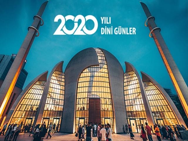 2020 Dini Günler