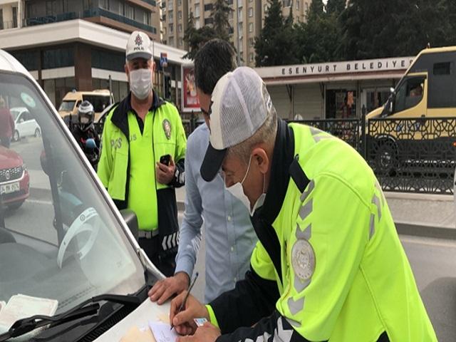 Esenyurt'ta Minibüsçülere Ceza Yağdı