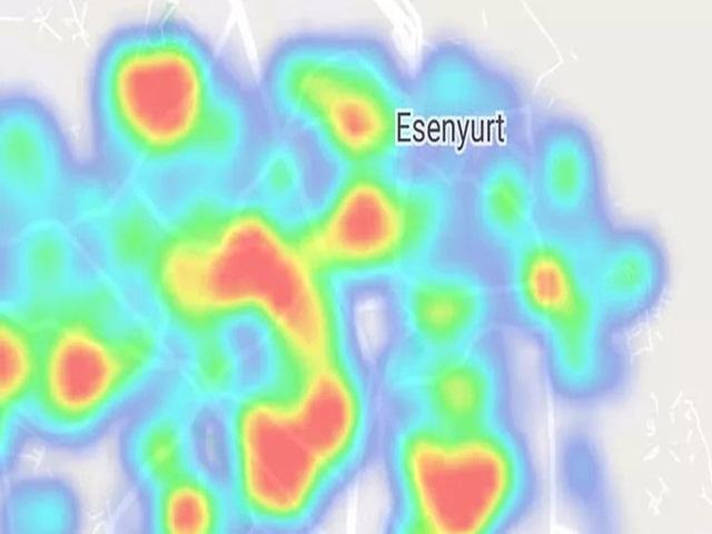 İstanbul'un yeni koronavirüs haritası yayınlandı! İşte ilçe ilçe koronavirüs yoğunluğu