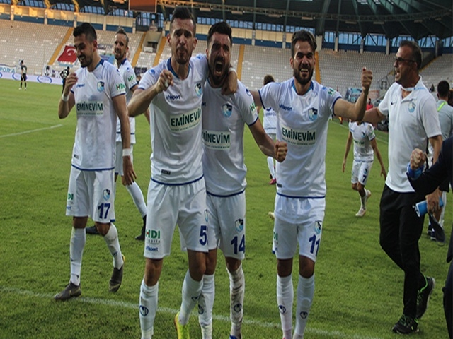 BB. Erzurumspor, yeniden Süper Lig'de!