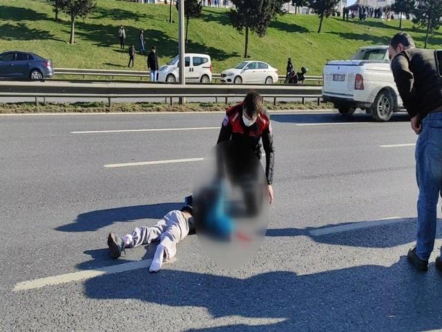 Esenyurt'ta trafik kazasında bir çocuk ağır yaralandı