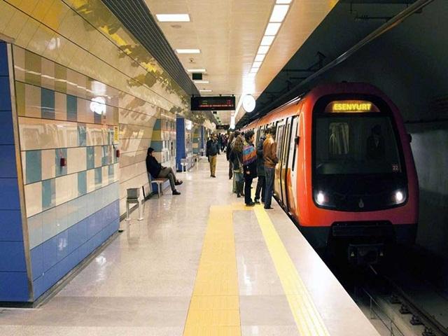 Mahmutbey-Esenyurt Metrosu için düğmeye basıldı