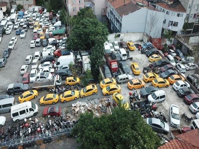 8 ayda bin 886 ticari taksi trafikten men edildi
