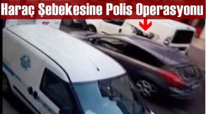 Haraç Şebekesine Polis Operasyonu