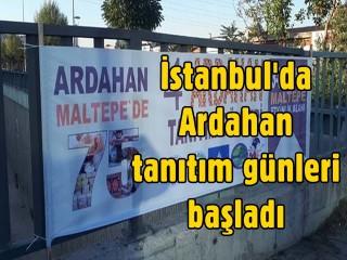 İstanbul'da Ardahan tanıtım günleri başladı