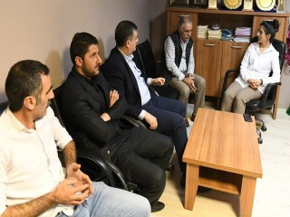 Kemal Deniz Bozkurt'tan HDP'ye ziyaret