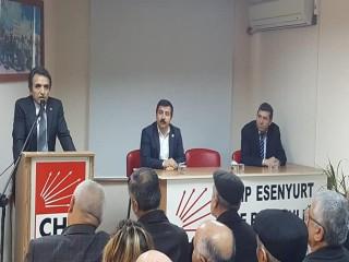 Şahin Aydın CHP Esenyurt İlçe Başkanlığına Resmen Aday Oldu