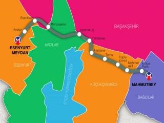 Esenyurt Bahçeşehir Mahmutbey Metrosu Ne Zaman Açılacak