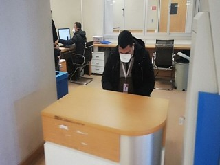 Mimar Sinan Devlet Hastanesi domuz gribi şüphesiyle acildeki kırmızı alan kapatıldı
