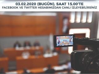 Esenyurt Belediyesi Meclis Toplantısını Canlı izlemek için tıklayınız