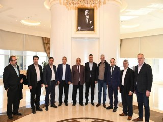 Esenyurt İl Dernekleri'nden Başkan Bozkurt'a ziyaret