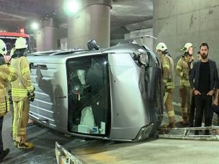 Esenyurt'ta alt geçitte trafik kazası