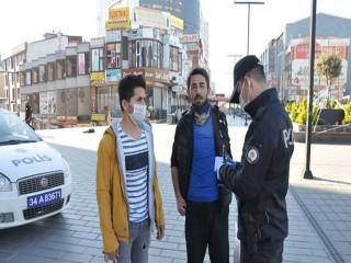 Esenyurt'ta sokağa çıkma yasağına polisten denetim