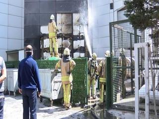 Hastanede çıkan yangın korkuya neden oldu!