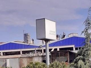 Esenyurt'ta Fabrika Yağmalandı