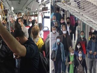İstanbul Valiliği'nden ayakta yolcu kararı