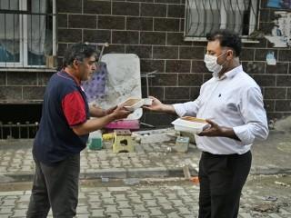 Sel Mağduru Vatandaşlara Sıcak Yemek