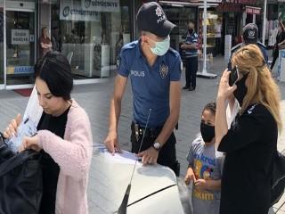 Esenyurtta maske denetimi! Polis ekipleri hayrete düştü