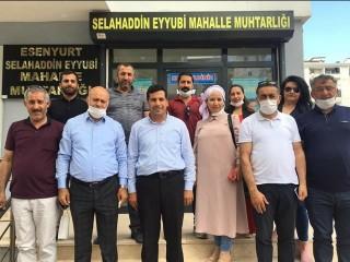 Gelecek Partisi Esenyurt'ta muhtarları ziyarete devam ediyor