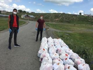 Göle Dernekler Federasyonu'ndan Göle'ye Gıda Yardımı