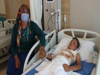 Ardahan'da 10 Yaşındaki Çocuk Kendini Yaktı