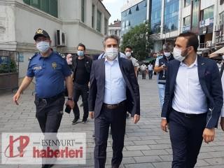 Kaymakam Karagül'den Esenyurt'ta Kapsamlı Denetim