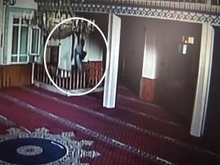 Allah'tan Korkmazlar Caminin Ses Sistemini çaldılar!