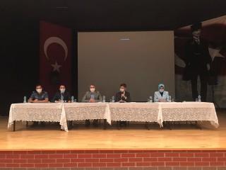Esenyurt Kaymakamı Vural Karagül'ün Başkanlığında Kovid-19 toplantısı yapıldı