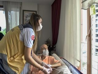 Esenyurt'ta 987 vatandaş evde sağlık hizmetinden yararlandı