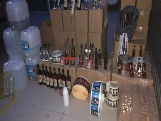Esenyurt'ta Sahte İçki Operasyonu
