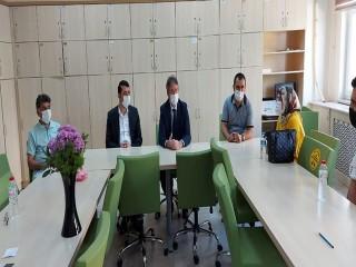 İstanbul İl Milli Eğitim Müdürü Levent Yazıcı'dan Beşli'ye ziyaret