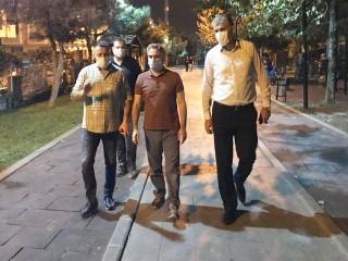 Kaymakam Karagül'den Gece Denetimi