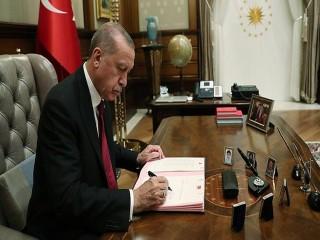 Başkan Erdoğan imzasıyla yayımlandı: Atama ve görevden alma kararları Resmi Gazete'de