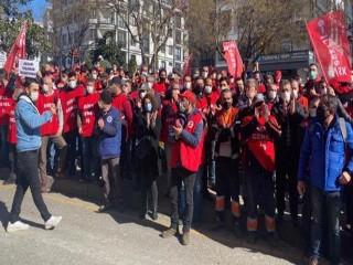Maltepe Belediyesi'nin grev yapan işçileri istediklerini aldı!