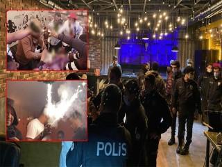 Esenyurt'ta Afrikalıların partisine polis baskını