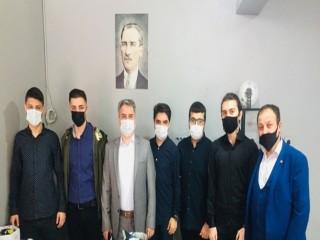 Kaymakam Karagül'den robotik kodlama yapan öğrencilere ziyaret
