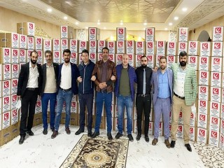 Esenyurt Yeniden Refah Partisi'nden Erzak Yardımı