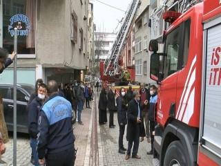 Esenyurt'ta yangın paniği! 7 kişi kurtarıldı