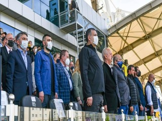 Başkan Bozkurt, Altay ve İstanbulspor maçına katılarak başarılar diledi