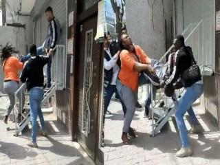 Esenyurt'ta Afrikalı çift ile hırsızlık şüphelileri arasındaki kavga!
