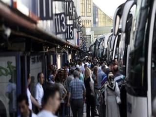 Otobüs biletleri tükendi! Otogarda dönüş yoğunluğu başladı