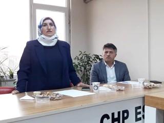 43 Mahalle'den sorumlu CHP'li kadınlar bir araya geldi