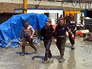 Avcılar'da İSKİ şantiyesini su bastı: 1 işçi son anda kurtarıldı